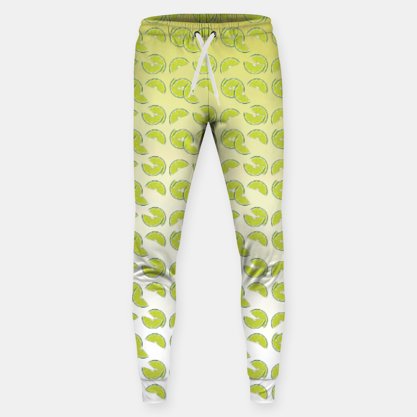 Foto lime pattern Cotton sweatpants - Live Heroes