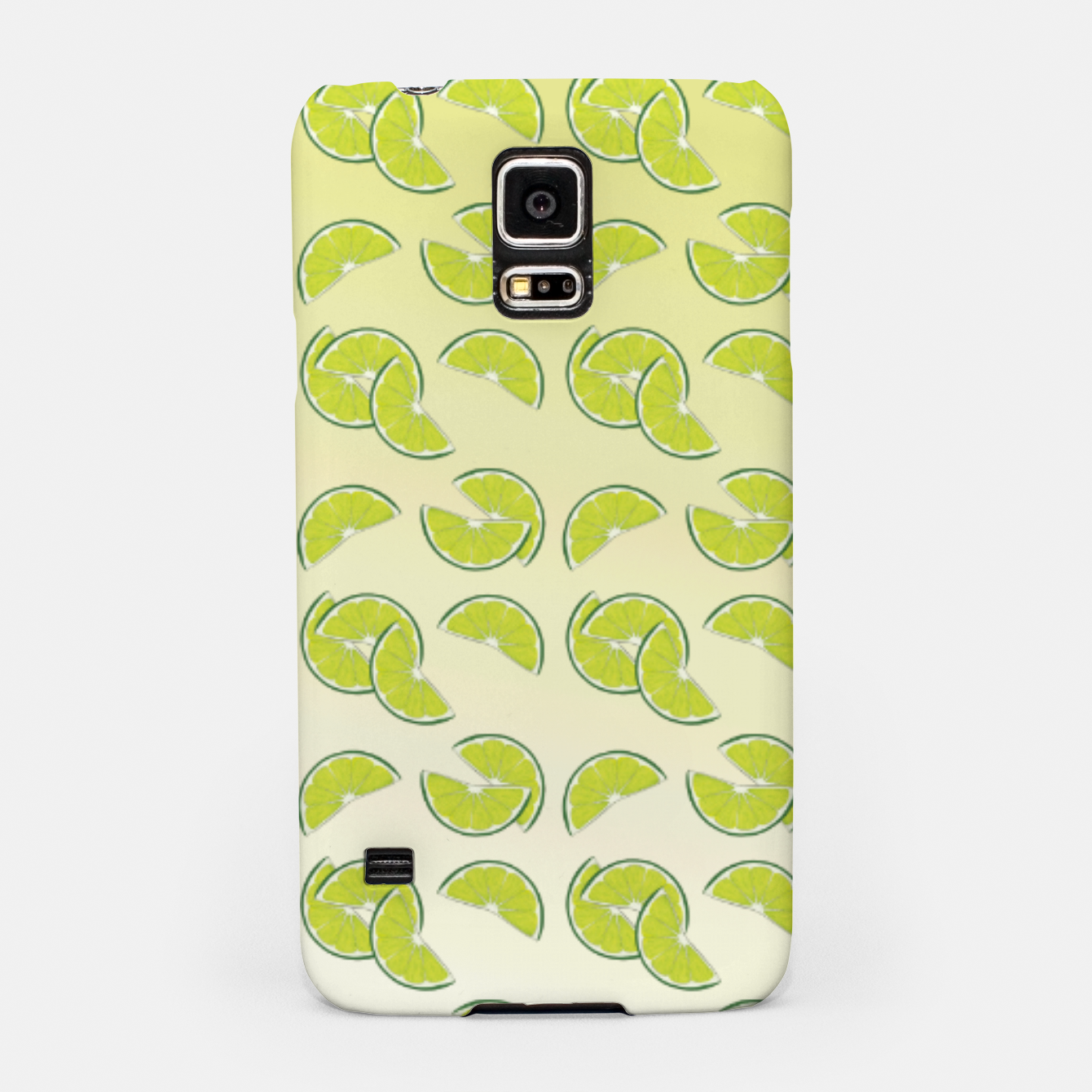 Foto lime pattern Samsung Case - Live Heroes