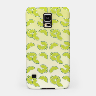 Miniatur lime pattern Samsung Case, Live Heroes