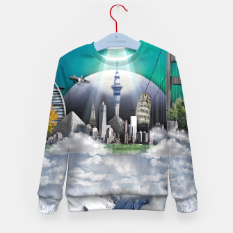 Thumbnail image of TOMORROW WORLD Sudadera para niños, Live Heroes