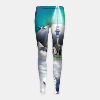 Thumbnail image of TOMORROW WORLD Leggings para niña, Live Heroes