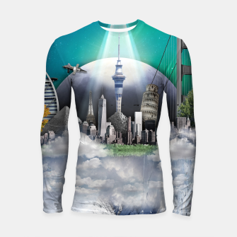 Thumbnail image of TOMORROW WORLD Longsleeve rashguard, Live Heroes