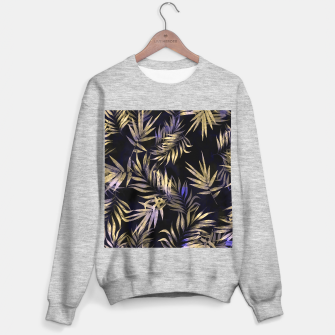 Golden Tropics Leaf Sweater regular Bild der Miniatur