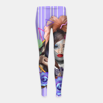 Thumbnail image of EUGENIA COLLAGE Leggings para niña, Live Heroes