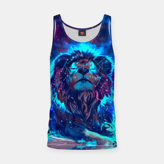 Thumbnail image of Lion Galaxy Tank Top, Live Heroes