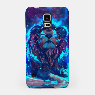 Thumbnail image of Lion Galaxy Samsung Case, Live Heroes