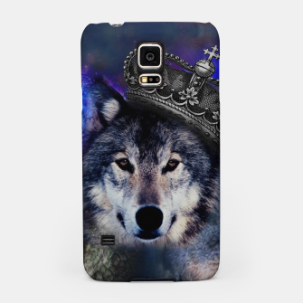 Thumbnail image of King Wolf Samsung Case, Live Heroes
