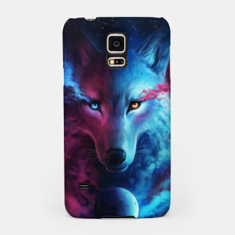 Thumbnail image of Galaxy Wolf Samsung Case, Live Heroes