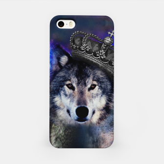 Thumbnail image of King Wolf iPhone Case, Live Heroes
