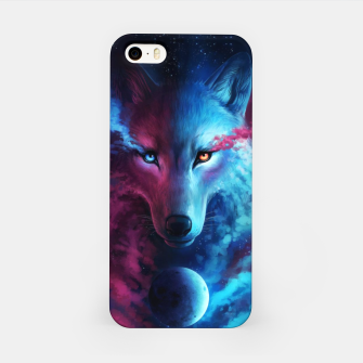 Thumbnail image of Galaxy Wolf iPhone Case, Live Heroes