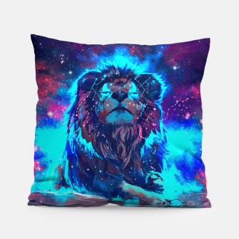 Thumbnail image of Lion Galaxy Pillow, Live Heroes