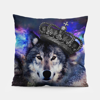 Thumbnail image of King Wolf Pillow, Live Heroes