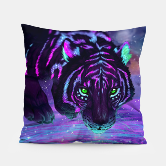 Thumbnail image of Night Tiger Pillow, Live Heroes