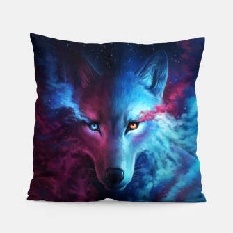Thumbnail image of Galaxy Wolf Pillow, Live Heroes