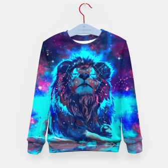 Thumbnail image of Lion Galaxy Sweatshirt, Live Heroes