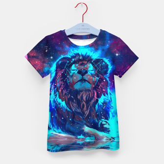 Thumbnail image of Lion Galaxy T-Shirt, Live Heroes