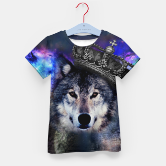 Thumbnail image of King Wolf T-Shirt, Live Heroes