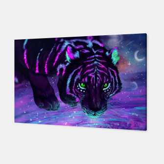 Thumbnail image of Night Tiger Canvas, Live Heroes
