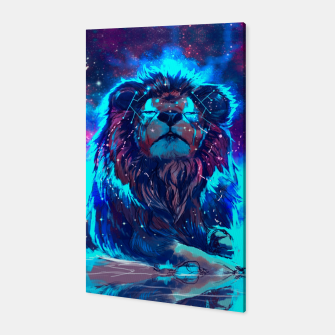 Thumbnail image of Lion Galaxy Canvas, Live Heroes