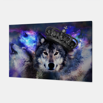 Thumbnail image of King Wolf Canvas, Live Heroes