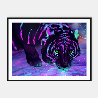 Thumbnail image of Night Tiger Plakat, Live Heroes