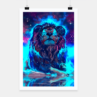 Thumbnail image of Lion Galaxy Plakat, Live Heroes