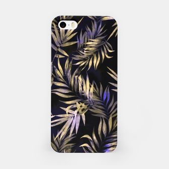 Golden Tropics Leaf iPhone Case Bild der Miniatur