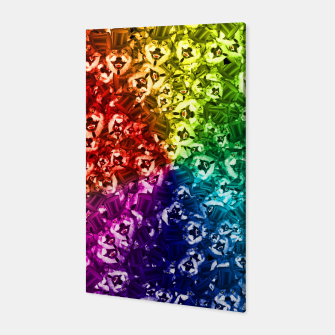 Thumbnail image of colorful wolves Canvas, Live Heroes
