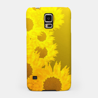 Thumbnail image of sunflower mosaic pattern Samsung Case, Live Heroes