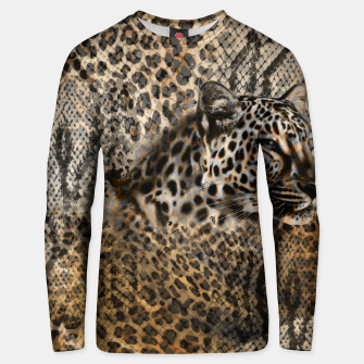 Thumbnail image of Leopard Cotton sweater, Live Heroes