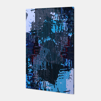 Thumbnail image of Blue Pixel Canvas, Live Heroes