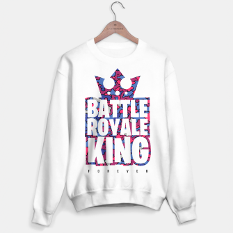 Thumbnail image of Battle Royale King Sweater Regular, Live Heroes