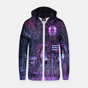Beryllium Princess Reloaded Cotton zip up hoodie thumbnail image