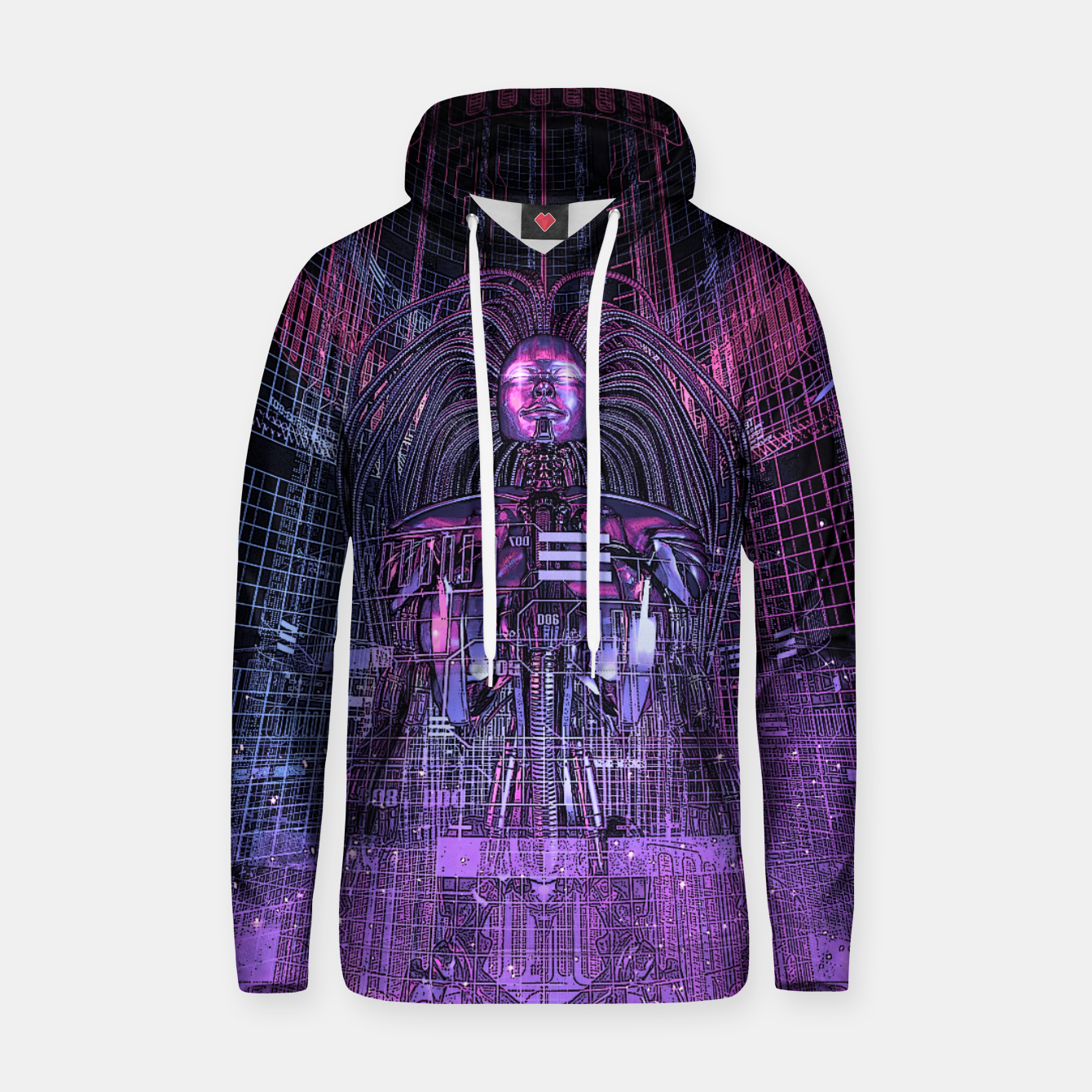 Image of Beryllium Princess Reloaded Cotton hoodie - Live Heroes