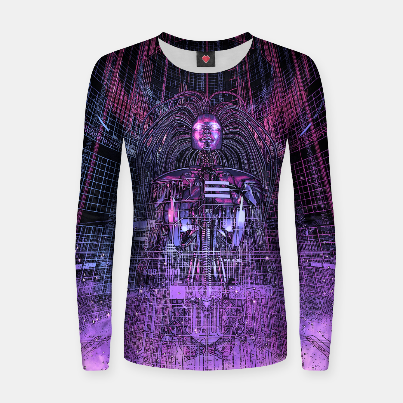 Image of Beryllium Princess Reloaded Woman cotton sweater - Live Heroes