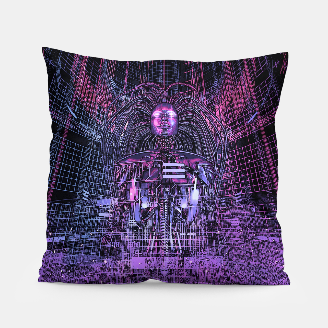 Image of Beryllium Princess Reloaded Pillow - Live Heroes