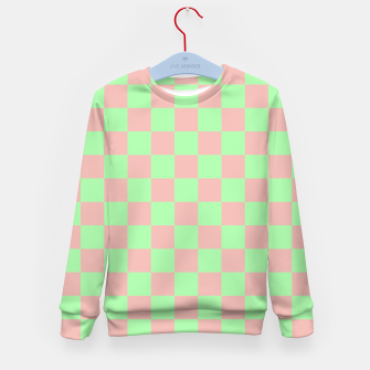 Miniature de image de Checkered Pattern I Kid's sweater, Live Heroes
