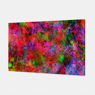 Thumbnail image of Manic Fragrance (abstract, psychedelic, fluorescent) Canvas, Live Heroes