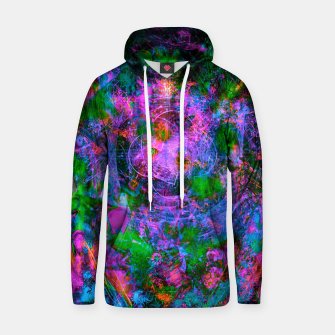 Thumbnail image of Underwater Shaman (The Midnight Zone) (abstract, visionary, psychedelic) Cotton hoodie, Live Heroes