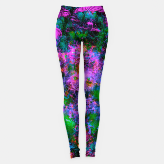 Thumbnail image of Underwater Shaman (The Midnight Zone) (abstract, visionary, psychedelic) Leggings, Live Heroes