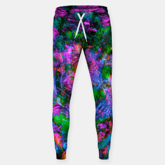 Thumbnail image of Underwater Shaman (The Midnight Zone) (abstract, visionary, psychedelic) Cotton sweatpants, Live Heroes