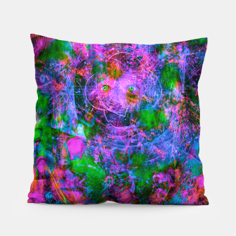 Thumbnail image of Underwater Shaman (The Midnight Zone) (abstract, visionary, psychedelic) Pillow, Live Heroes