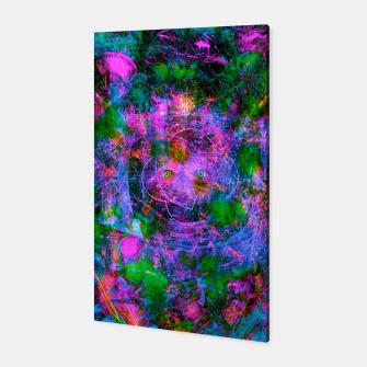 Thumbnail image of Underwater Shaman (The Midnight Zone) (abstract, visionary, psychedelic) Canvas, Live Heroes