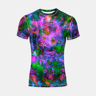 Miniature de image de Underwater Shaman (The Midnight Zone) (abstract, visionary, psychedelic) Shortsleeve rashguard, Live Heroes
