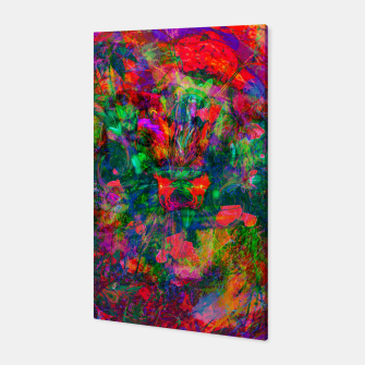 Thumbnail image of Yawn (Agitated Yell) (abstract, psychedelic) Canvas, Live Heroes