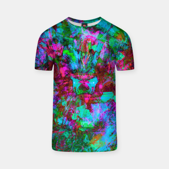 Thumbnail image of Yawn (Calm Moan ) (abstract, psychedelic) T-shirt, Live Heroes