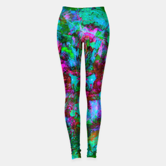 Miniaturka Yawn (Calm Moan ) (abstract, psychedelic) Leggings, Live Heroes