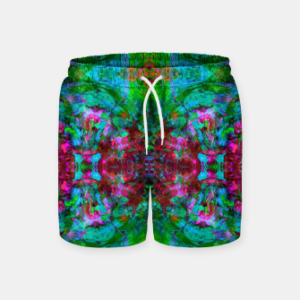 Thumbnail image of Nausea 1969 I (abstract, psychedelic, pattern) Swim Shorts, Live Heroes