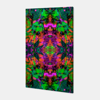 Thumbnail image of Nausea 1969 II (Ultraviolet) (abstract, psychedelic, neon, fluorescent, blacklight) Canvas, Live Heroes