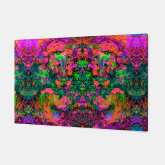 Thumbnail image of Nausea 1969 (Ultraviolet) (abstract, psychedelic, fluorescent, neon, blacklight) ) Canvas, Live Heroes